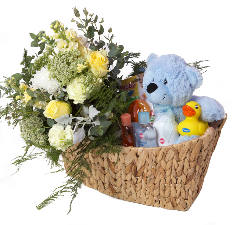 New Baby Gift Hampers Perth : Gift basket charlie new baby hampers funky bunches